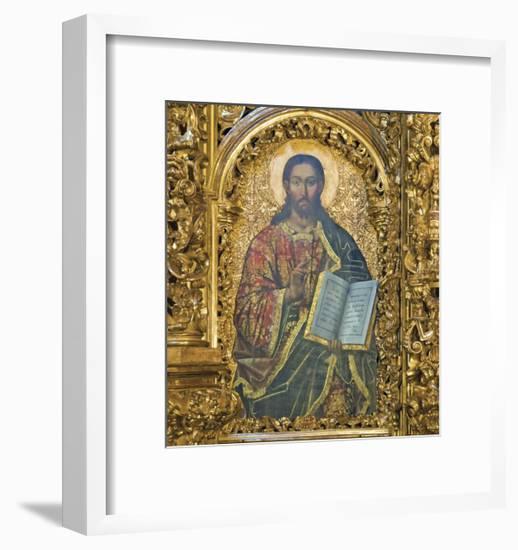 Gold Christ-Marcus Jules-Framed Giclee Print