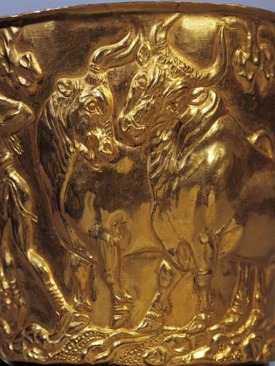 Gold Cup from Tholos Tomb of Vaphia from Sparta--Giclee Print