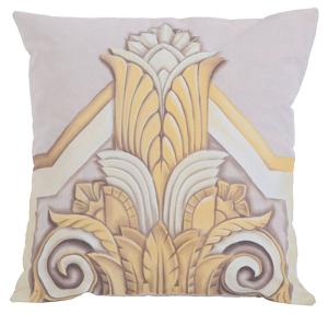 Gold Deco Pillow