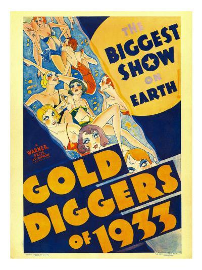 Gold Diggers of 1933, Window Card, 1933--Photo