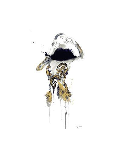 Gold Dust Woman-Jessica Durrant-Art Print