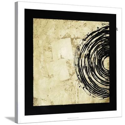 Gold Eclipse I-Jenna Guthrie-Stretched Canvas Print
