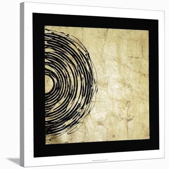 Gold Eclipse II-Jenna Guthrie-Stretched Canvas Print
