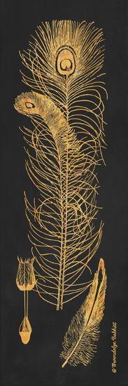 Gold Feathers II-Gwendolyn Babbitt-Art Print