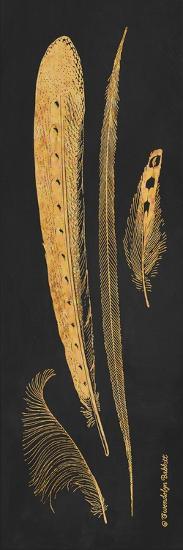 Gold Feathers IV-Gwendolyn Babbitt-Art Print