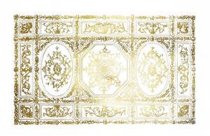 Gold Foil Ceiling Design
