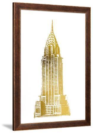 Gold Foil Chrysler-Ethan Harper-Framed Art Print