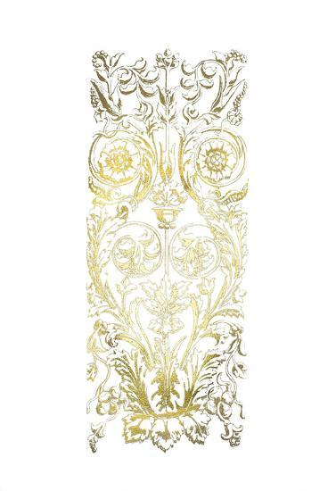 Gold Foil Renaissance Panel II-Owen Jones-Art Print