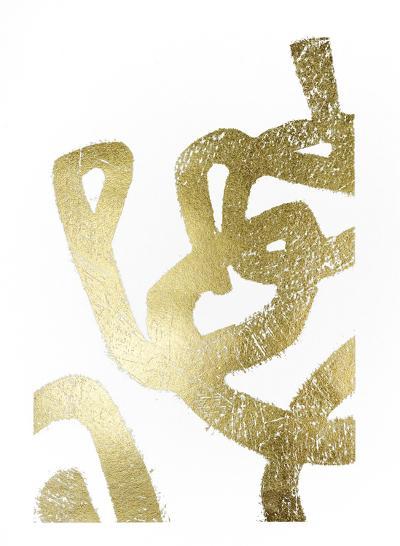 Gold Foil Symbiotic I-June Erica Vess-Art Print