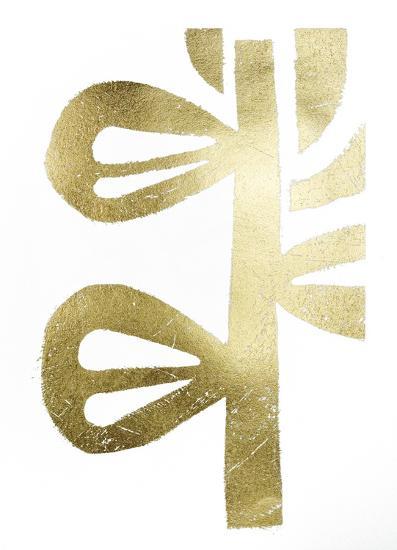 Gold Foil Symbiotic V-June Erica Vess-Art Print