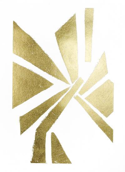 Gold Foil Symbiotic VI-June Erica Vess-Art Print
