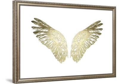Gold Foil Wings II-Ethan Harper-Framed Art Print
