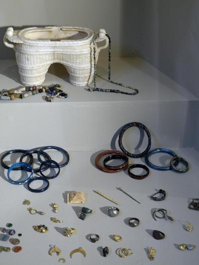 Gold, Glass, Ivory and Metal Jewelry, Uncovered from House of Terraces--Giclee Print