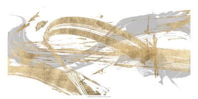 Gold & Grey I-Studio W-Art Print