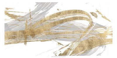 Gold & Grey II-Studio W-Art Print