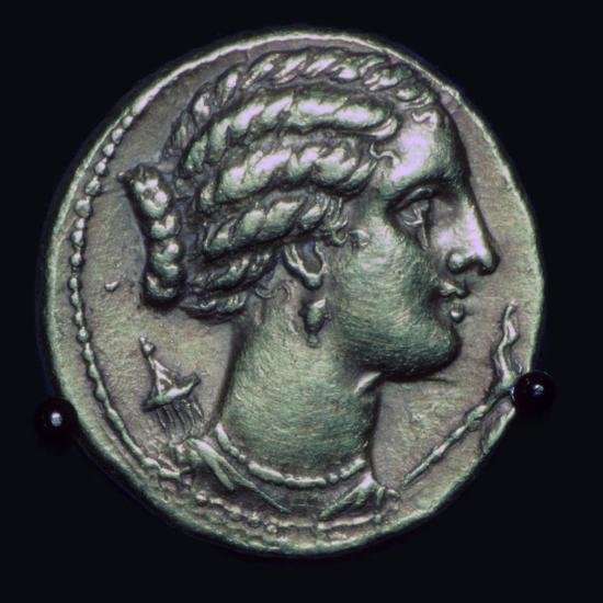 Gold half-stater of Pyrrhus of Epirus, 3rd century BC.-Unknown-Giclee Print