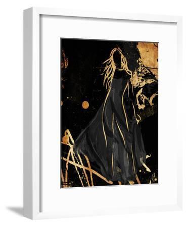 Gold In The Wind-OnRei-Framed Art Print