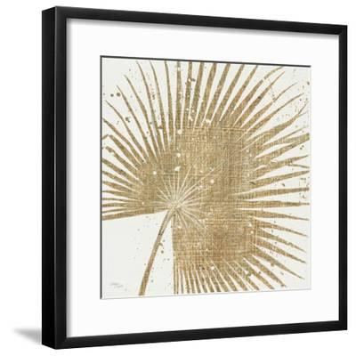 Gold Leaves II-Jim Wellington-Framed Premium Giclee Print