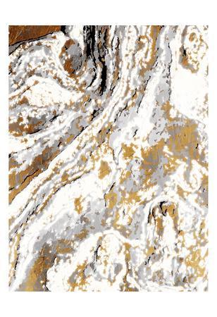 Gold Marble-Jace Grey-Art Print