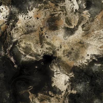 Gold Marbled Abstract I-PI Studio-Art Print