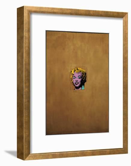 Gold Marilyn Monroe, 1962-Andy Warhol-Framed Giclee Print