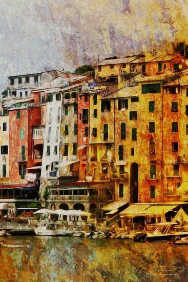 Gold Mediterrane 01-Joost Hogervorst-Art Print