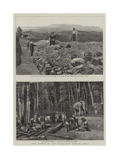 Gold Mining in South-East Wynaad, India--Giclee Print