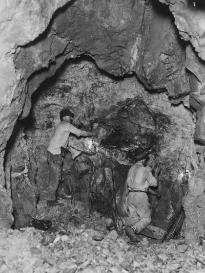 Gold Mining--Photographic Print