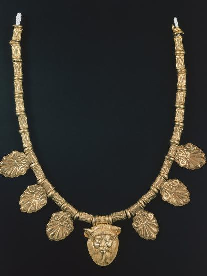 Gold Necklace from Praeneste--Photographic Print