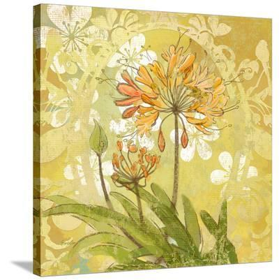 Gold Nile Lily--Stretched Canvas Print