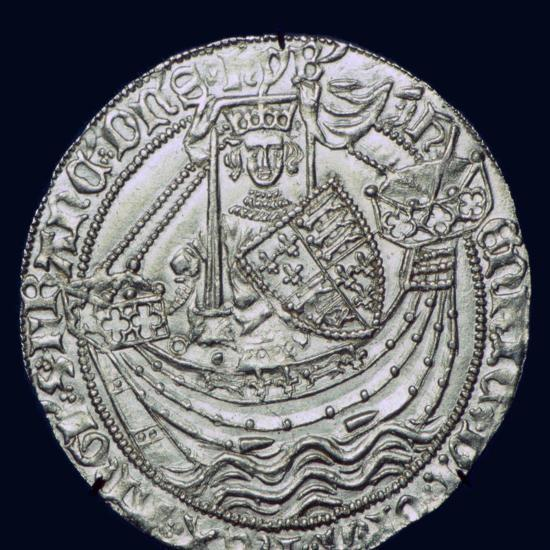 Gold Noble of Henry VI, 15th century. Artist: Unknown-Unknown-Giclee Print
