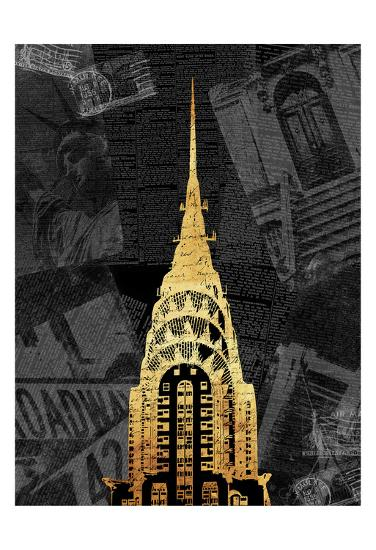 Gold NY Mate-Jace Grey-Art Print