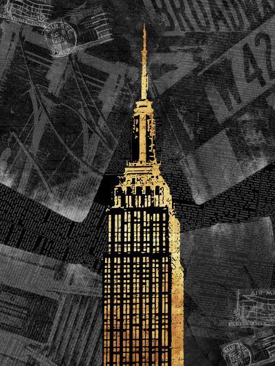 Gold NY-Jace Grey-Art Print