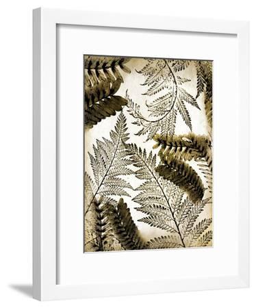Gold Palm 1-Kimberly Allen-Framed Art Print