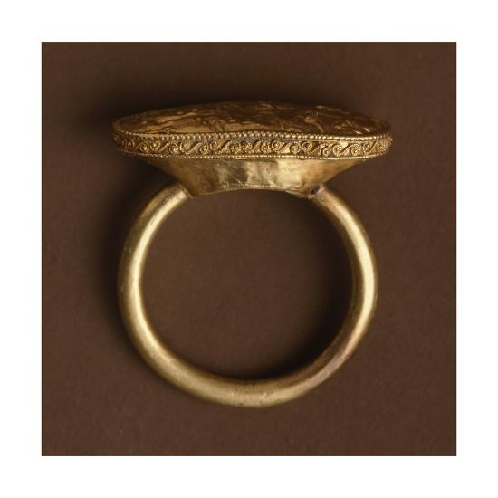 Gold Ring, from Cerveteri--Giclee Print