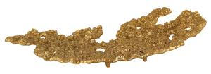 Gold Rush Small Dish