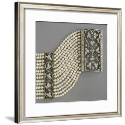 Gold, Silver and Diamonds Dog Collar--Framed Giclee Print