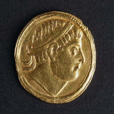 Gold Solidus of Constantine the Great, Minted in Kocaeli, 307-337--Giclee Print