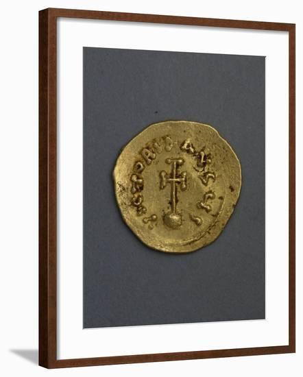 Gold Solidus, Verso, Byzantine Coins--Framed Giclee Print