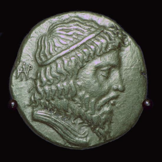 Gold Stater of King Andragoras of Parthia. Artist: Unknown-Unknown-Giclee Print
