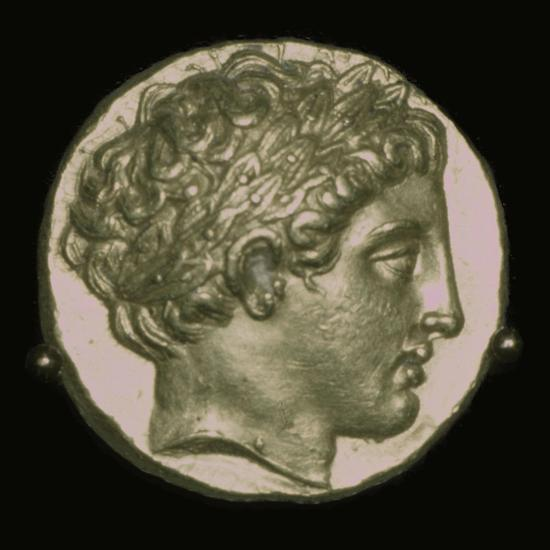Gold Stater of Phillip II of Macedon, 4th century BC. Artist: Unknown-Unknown-Giclee Print
