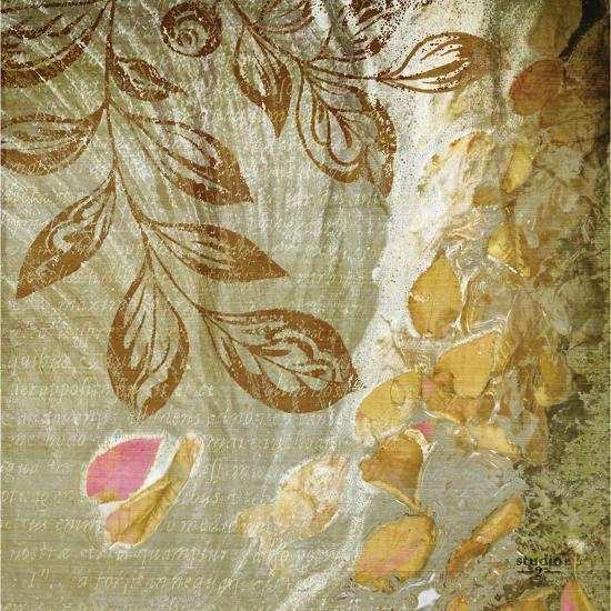 Gold Swirl I-Studio 2-Photographic Print