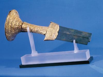 Gold Sword Hilt, from Skopelos, Greece--Giclee Print