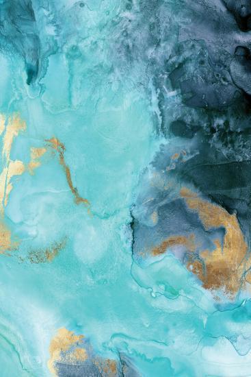 Gold Under the Sea II-Eva Watts-Art Print