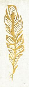 Gold Water Feather II