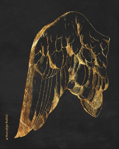 Gold Wing I-Gwendolyn Babbitt-Art Print