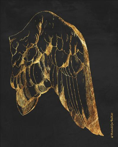 Gold Wing II-Gwendolyn Babbitt-Art Print