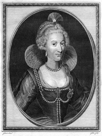 Anne of Denmark, Queen Consort of King James I of England and VI of Scotland, 1786