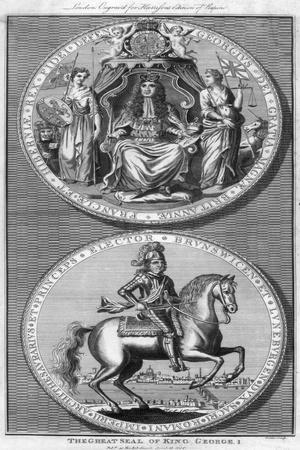 The Great Seal of King George I, 18th Century