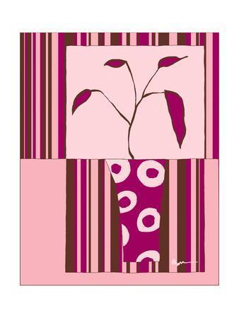 Minimalist Flowers in Pink II